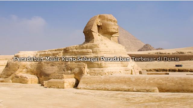 Peradaban Mesir Kuno